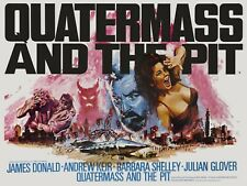 """Quatermass and the Pit 1967 repro UK quad poster 30x40"""" Hammer horror FREE P&P"""