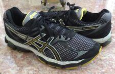 ASICS Gel-Cumulus 14 Women's Black Yellow Running Training Shoes Size 10 T246N