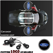 2pcs For Ford CREE Car Door Light Logo Ghost Shadow Projector LED Welcome Light