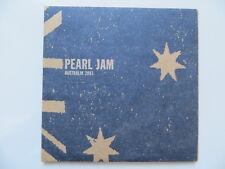 2 CD Pearl Jam - Live Perth 2003 Official Bootleg - Digipak - RARE
