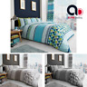 Luxury Printed Duvet Cover with Pillowcase Quilt Bedding Set Double King S.King