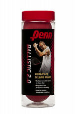 (1 Can (3 Balls)) - Penn Ballistic 2.0 Racquetball. Delivery is Free