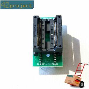 IC-SMD-Sockel Programmier-Adapter SO44 SOP44 SOIC44 zu DIP44 500mil Flash-Memory