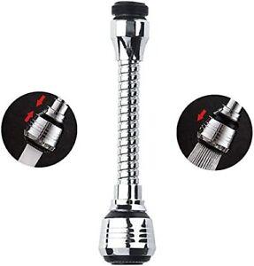 Wassersparer Wasserhahn Verlängerung Strahlregler 360° Schwenkbar Aufsatz Ventil
