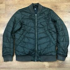 G- Star Meefic Bomber Jacket Green Large