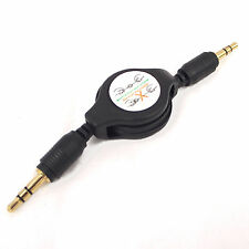 3.5mm Male to M AUX AUXILIARY Retractable Stereo Audio Data Cable Mp3 CABLE