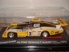 ALPINE RENAULT A442B N° 2 - 24 HEURES DU MANS 1978  au 1/43°