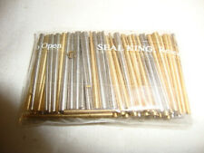 100 PCS BRASS & STEEL TAPERED PIN ASSORTMENT