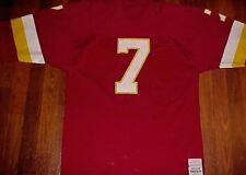 Sand-Knit Pro Action NFL NFC Washington Redskins Joe Theismann 7 Red Jersey L