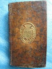 FLECHIER : RECUEIL DES ORAISONS FUNEBRES, 1768. Plats aux armes