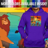 Hakuna Matata Abbey Road Lion King Parody Mens Unisex Pullover Hoodie Sweater