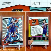 2019-20 Revolution TY JEROME Sunburst #'d/75 rare rookie rc non auto