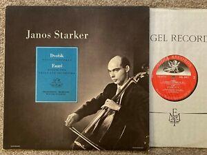 STARKER Dvorak Faure Cello Philharmonia Orch Susskind .. Angel 35417 NM