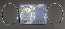 98-02 Mercedes W208 CLK chrome headlight rings trim rim