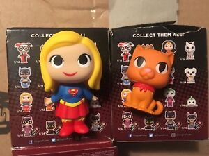 DC Super Heroes FUNKO MYSTERY MINIs Supergirl and Streaky