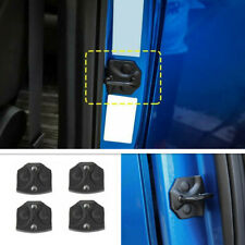 4Pcs Black Door Lock Cover Buckle Decor Trim For Ford F150 2015-2020 Accessories
