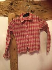 Benetton Girls Blouse Size M Age 8 Years Excellent Condition