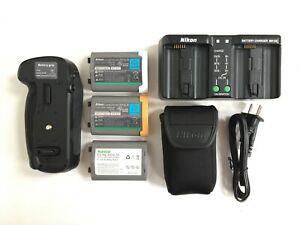 MB-D18 Type Vertical Battery Grip Kit for Nikon D850 MH-26 Charger EN-EL18 DSLR