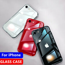 Tempered Glass Phone Case For i Phone11 Pro Max XS XR Cover Luxury TPU Hard Case