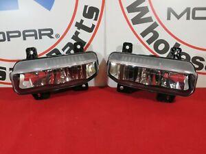 2019-2020 DODGE RAM 1500-5500 Front Right & Left LED Fog Lamps NEW OEM MOPAR
