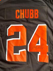 Nick Chubb Signed NFL Pro Line Jersey XXL