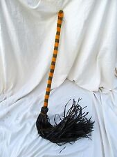 Witch Broom Haunted House Kids Halloween Costume Theater Prop Primitive Decor