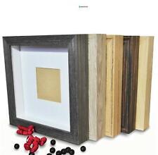 'demiriola ' 3d-marcos | 29 x 29 x 4,6cm | madera-cristal | profundo para llenar