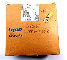 ca 500 Stück Ringkabelschuhe M 8 gelb für Kabel von 4 mm² - 6 mm² Ringoese