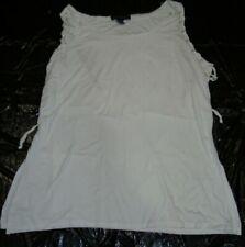 b4b8c30efc7 Ashley Stewart Women s White Tank Top Plus Size 18 20 Z5