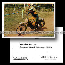 #mtr76.126 ★ DANIEL BEAUMONT YAMAHA 125 CROSS 1970's ★ Moto Motorismo 76