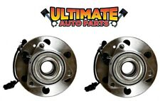 Front Wheel Bearing Hubs (4x4 or AWD) w/ABS Pair for 07-13 Chevy Avalanche 1500
