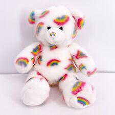Build A Bear Summer Season of Hugs White Rainbow Plush Stuffed Animal