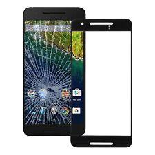 PREMIUM displayglas vidrio negro para Google Nexus 6p Accesorio+