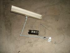 Midgard SCHREIBTISCHLAMPE Loft Werkstattlampe Gelenkleuchte ILBA LS20W BB900 DDR