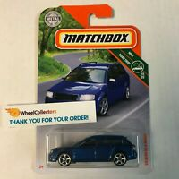'02 Audi RS 6 Avant * Blue * 2019 Matchbox Case P * ZB1