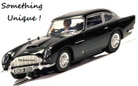 SCALEXTRIC Slot Car C4029  Aston Martin DB5 - Gloss Black  (SOMETHING UNIQUE)