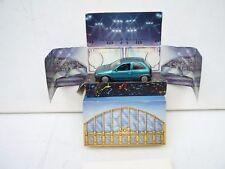 Gama 1/43 Model Car Opel Corsa Festa Barcelona 1993 M Box Selten Raro!!!