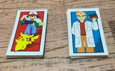 1999 Pokemon Monopoly Collector Edition Chance Community Chest Replacement Cards