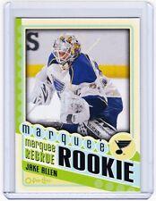 12-13 2012-13 O-PEE-CHEE JAKE ALLEN MARQUEE ROOKIE 590 ST. LOUIS BLUES