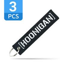 Hoonigan Keychain Strap Ken Block Drift JDM Fabric Keyring Car Gift 3 PCS/LOT !!