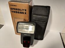 Yongnuo Speedlite YN568EX External Flash for Canon + Soft Case + Box