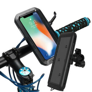 Waterproof Motorcycle Motorbike Scooter Mobile Phone Holder Bag Case for iPhone