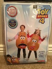 Disney Toy Story Mr. Mrs. Potato Head Halloween Dress Up Costume Child Size New!
