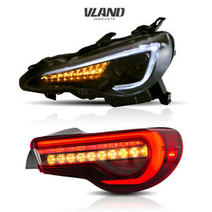 LED Headlights&Tail Lights For 12-19 Toyota 86&Subaru BRZ 13-19&Scion FR-S 13-16