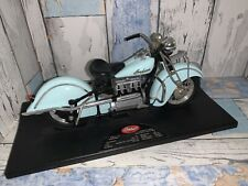 Tootsietoy 1/10 Scale 1942 Indian Motorcycle Lite Blue