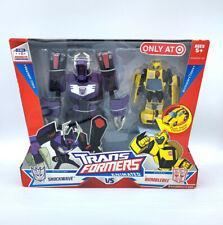 Transformers Animated - Shockwave vs Bumblebee 2 Pack Target Exclusive