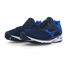 Mizuno Uomo Wave Rider 23 Scarpe Da Corsa Ginnastica Sport Sneakers - Blu Navy