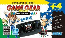 Sega Jeu Gear 30th Anniversary Micro Noir Limité Japon officiel