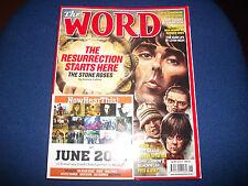 Word Magazine June 2012 Stone Roses Dave Gahan Slash John Lennon Gaz Coombes CD
