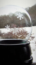 100mm Medium Snow Globe Kit (Glass globe etched with snowflake design )